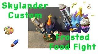 Custom Lost Island Skylander Frosted Food Fight