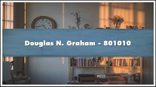 Douglas N. Graham 801010 Audiobook