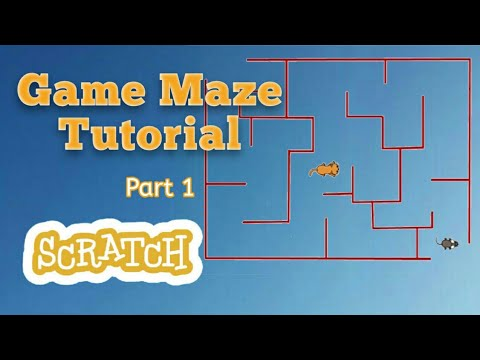 how to make a maze scratch