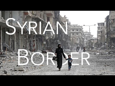 Going to the Syrian border with kids