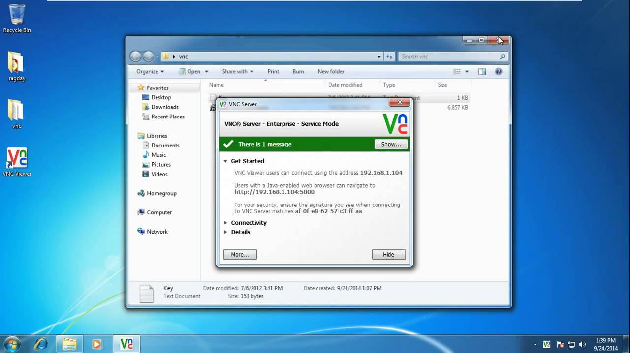 How To Install Real Vnc For Remote Desktop Access Youtube