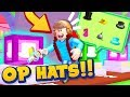 INSANE OVERPOWERED HATS in Vacuum Simulator Hats Update!