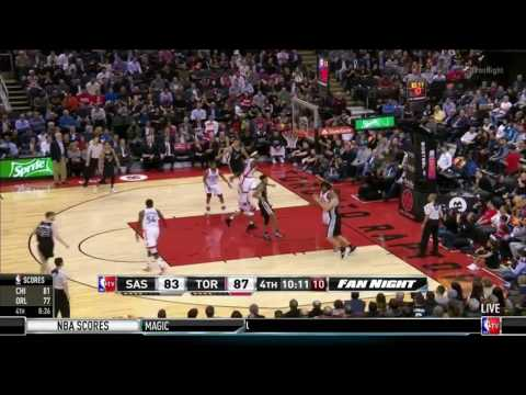 Spurs Passing & Sharing the Ball vs Toronto Raptors (NBA TV)