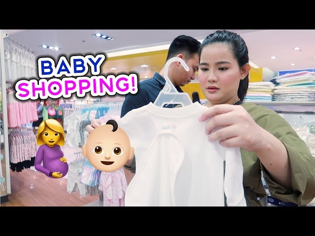 SHOPPING FOR OUR BABY! YOUNG MOM STRUGGLES!