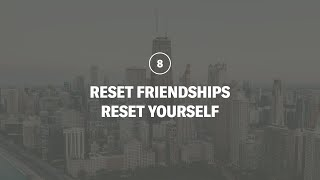 Reset Friendships, Reset Yourself | 180 LIVE