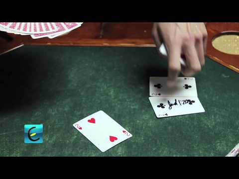 Magic Kissing Card Trick - TUTORIAL Travel Video