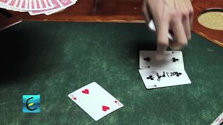 Magic Kissing Card Trick - TUTORIAL