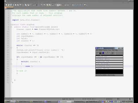 Java Tutorial:  Making Histograms
