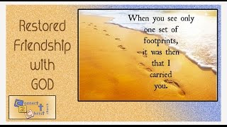 Restored Friendship with God