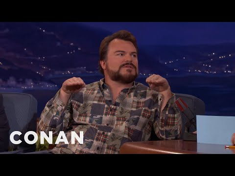 Jack Black On Tenacious D's Post-Apocalyptic Rock Opera  - CONAN on TBS