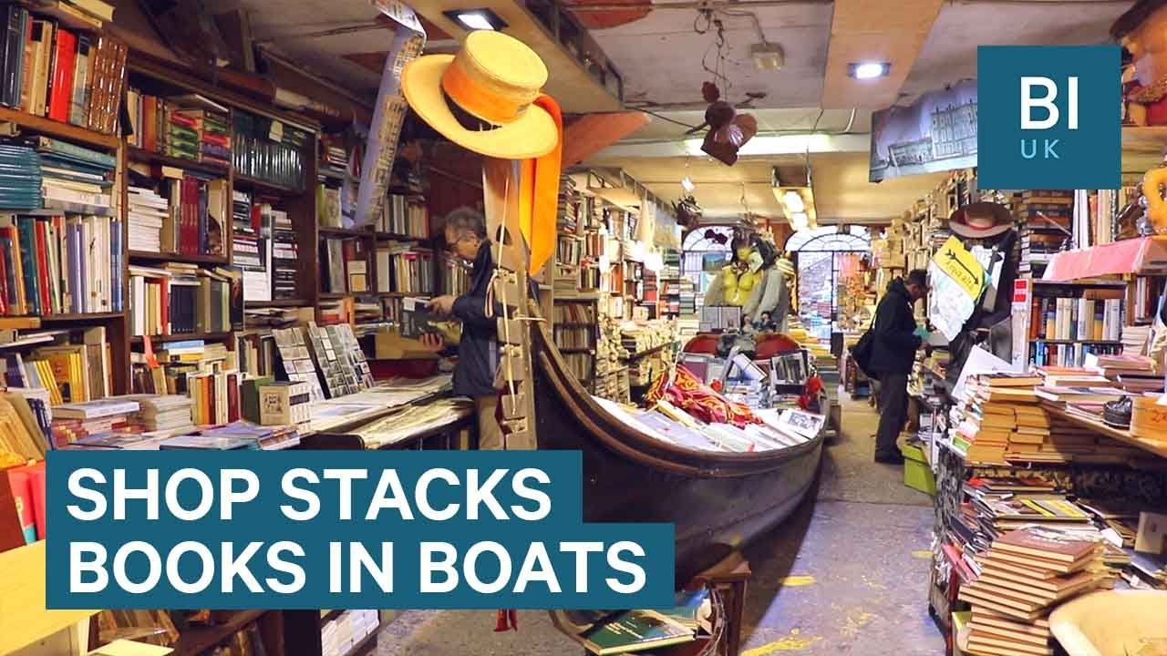 How this Venice bookshop protects its books from flooding