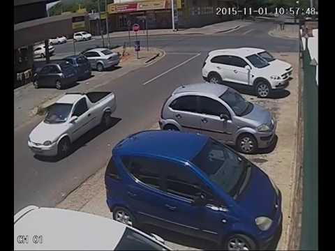 High speed motorcycle accident South Africa.