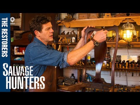 How To Polish, Remove Stains and Restore Wooden Furniture | Salvage Hunters: The Restorers