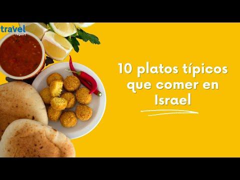 10 platos típicos que comer en Israel