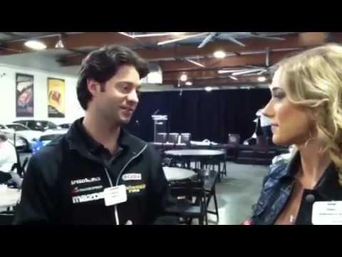 GRAND-AM Road Racing MazdaSpeed Jonathan Bomarito Interview