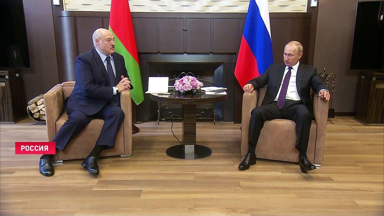Лукашенко и Путин в Сочи: С коронавирусом вместе поборемся и преодолеем трудности! / Сентябрь, 2020