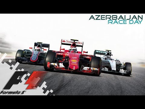 F1 2016 - AZERBAIJAN - Race Day!