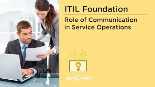 Role of Communication in Service Operations | ITIL Training Videos