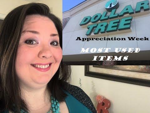 {LIVE} Dollar Tree Appreciation Week ~ Most Used Items