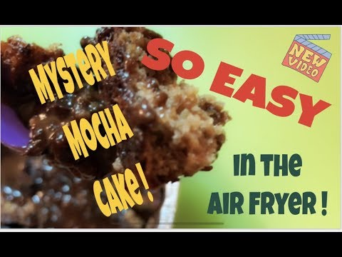 Chocolate Cake in the Air Fryer! Grandma's Easy
