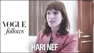 Harif Nef : a Day at fashion week with the transgender model |  #VogueFollows  |  VOGUE PARIS