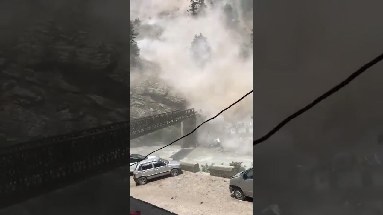 MASSIVE Rockslide Kills 9 Tourists in Kinnaur, India - Jul. 25, 2021