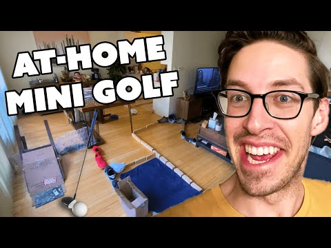 The Try Guys Build A Mini Golf Course At Home