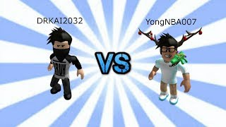 Roblox Assassin 1v1 Series Ep.1 DRKai2032 Vs YongNBA007!