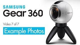 Example 360VR Photos - Samsung Gear 360 Camera - 360 VR Video