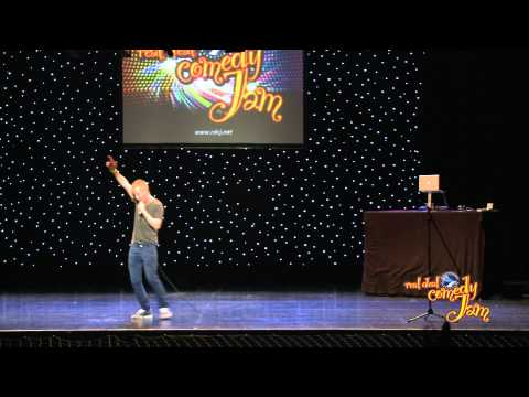Comedian Jamie Howard on the Real Deal Comedy Jam