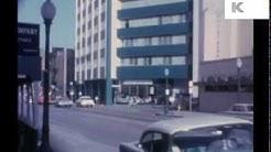 Early 1960s Dallas, Texas, Rare Colour Home Movie Footage