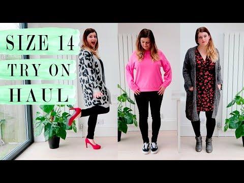 SIZE 14 TRY ON HAUL  UK CLOTHING HAUL