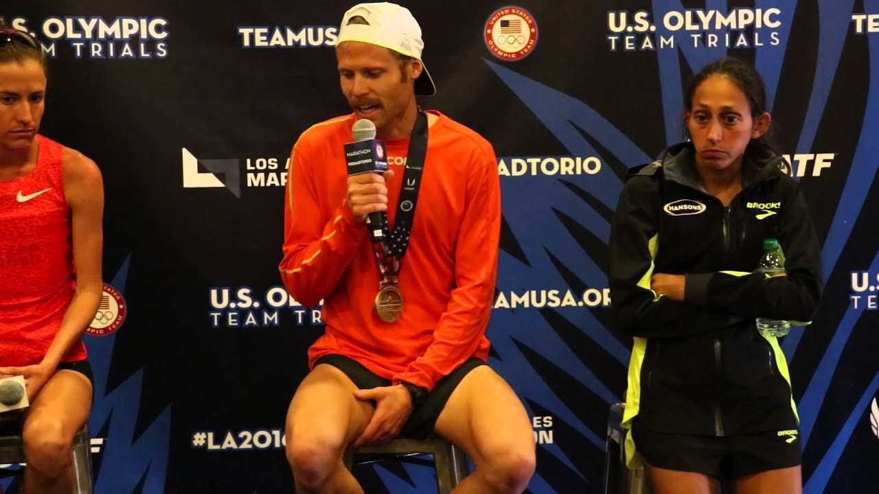 Olympic Trials Marathon - Press Conference