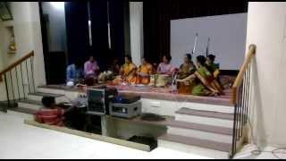 Gondhal - performance at Maharashtra Mandal Chennai