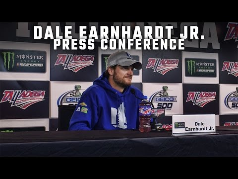 Watch Dale Earnhardt Jr.'s press conference before his final spring race at Talladega