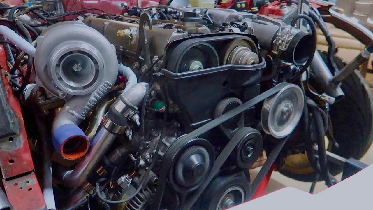 2jz-big-turbo-first-start
