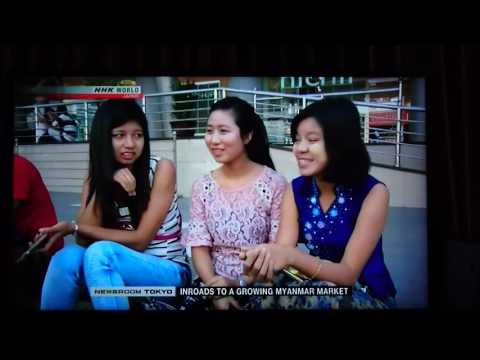 NHK WORLD (EINGLISH) INROADS TO A GROWING MYANMAR MARKET【13APR2017】