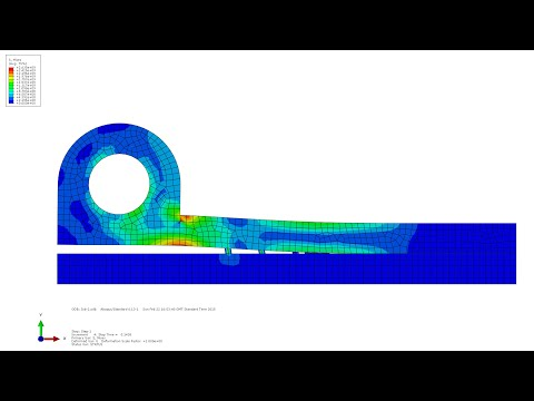 Abaqus - Cohesive Elements & Tie Constraints Tutorial