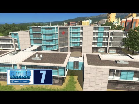 Let's Play | Cities Skylines | University Hospital
