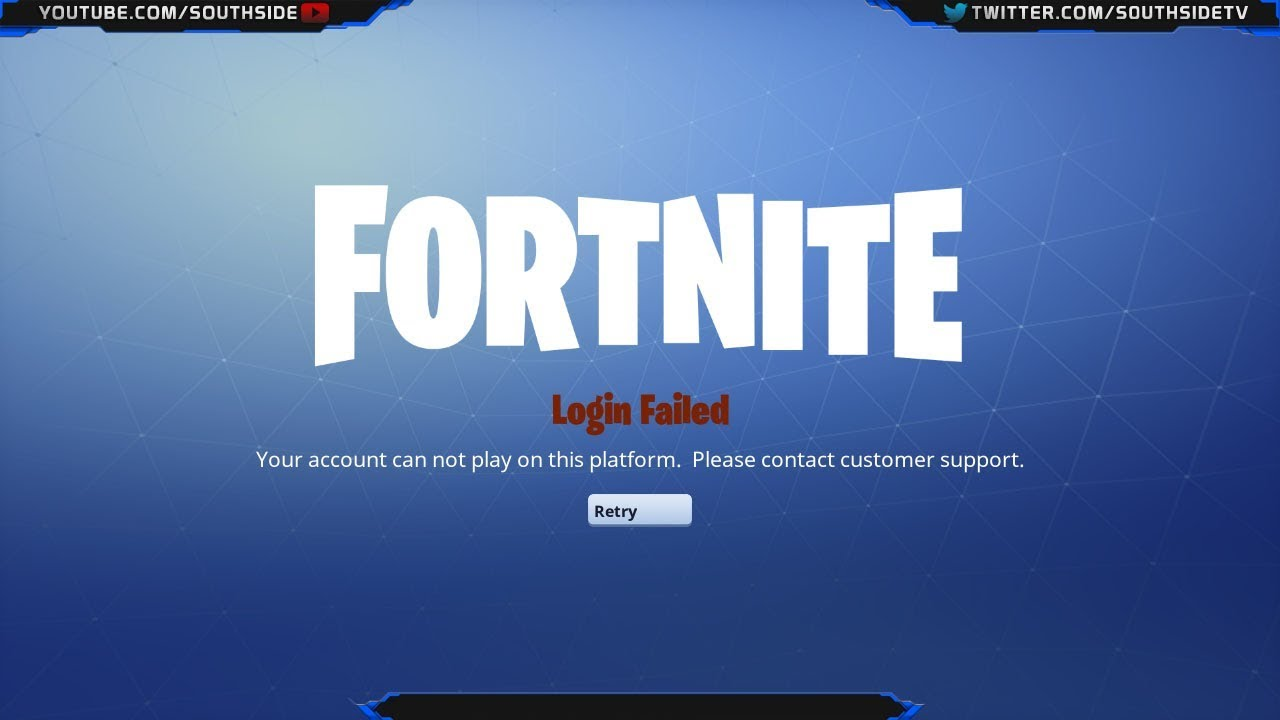 Login Failed - Your account can not play on this platform ...