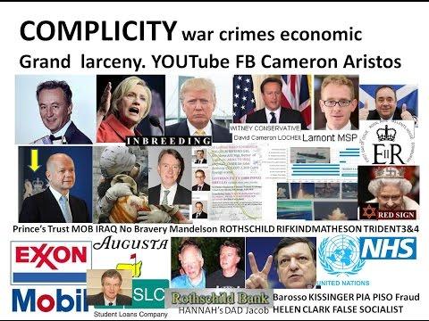 You tube COMPLICITY in Trump Bush Blair War Crimes & the Nuremburg precedents