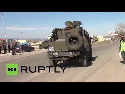 Bulgaria: Troops deployed to Greek border to control refugee flow