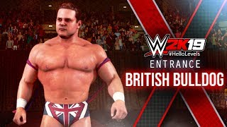WWE 2K19 British Bulldog Entrance | WWE 2K19 Entrances