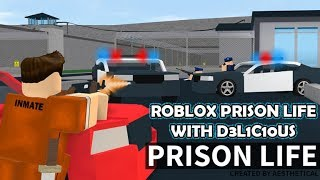 How to escape from jail (ROBLOX prison lifev2)
