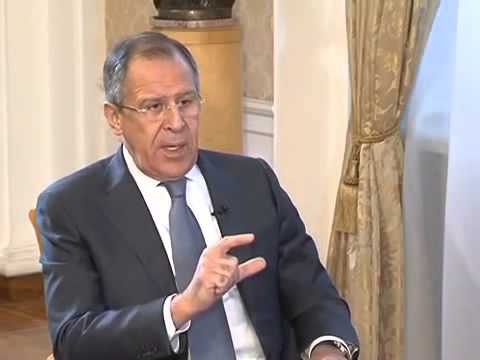 Sergey Lavrov gives interview to France 24 eng