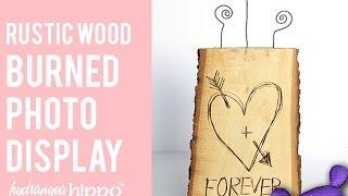 Diy Carved Wood Centerpiece