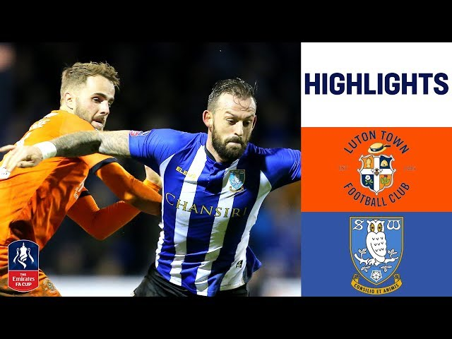 Nuhiu Goal Puts The Owls Through | Luton 0-1 Sheffield Wednesday | Emirates FA Cup 2018/19