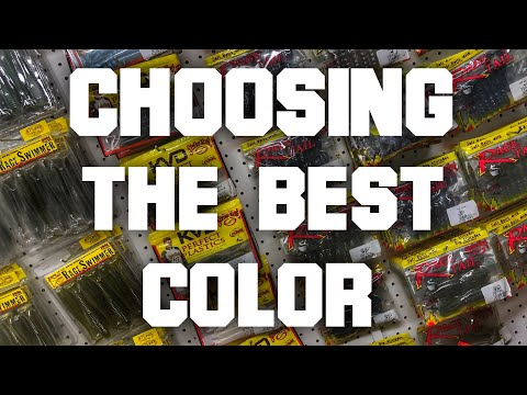 Beginner Bass Fishing - How To Choose The Color Of Your Lure