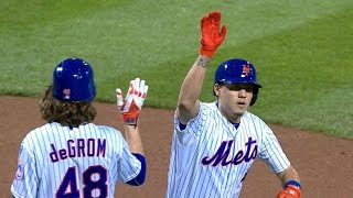 5/16/15: Mets use 10-run 4th to trounce Brewers