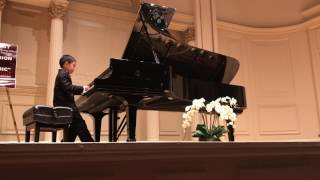 Mozart's Rondo in D Major k.485 by talented 8-year old Cary